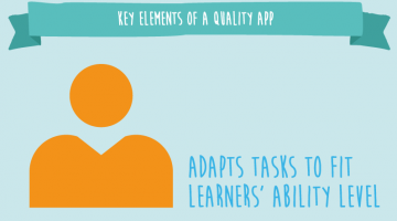 adapts tasks to fit learners ability1