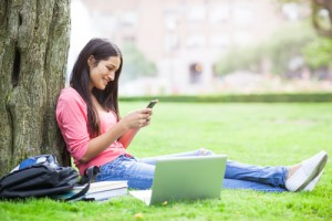 Smartphones have increasingly become embedded in student lives.
