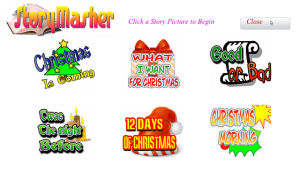 Story Masher Xmas Blackberry App