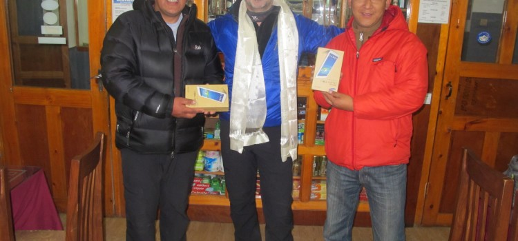 educational app store donates tablets nepal