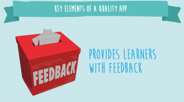 provides learner with feedback1