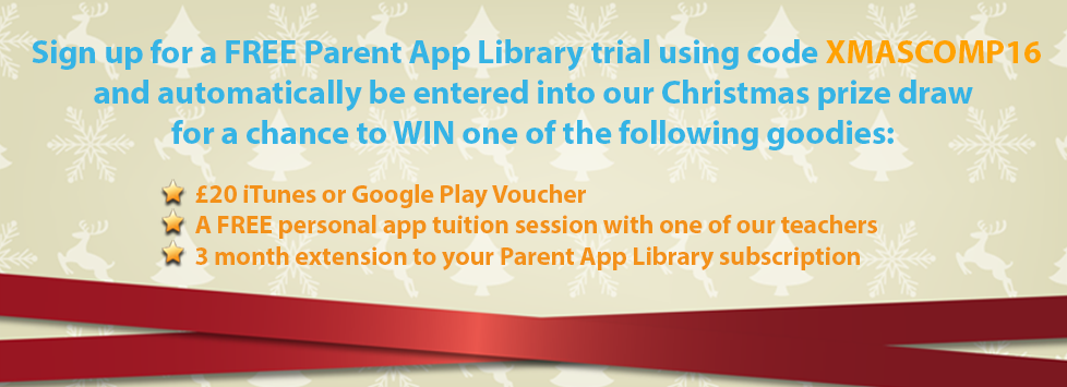Parent App Library XMAS Discount