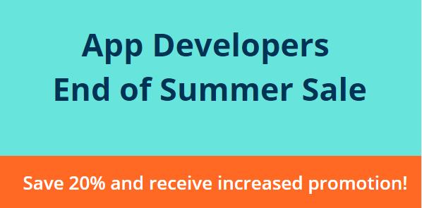 App Promotion - Summer Sale