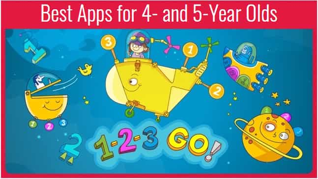 Best Apps for 5-6 Year Olds