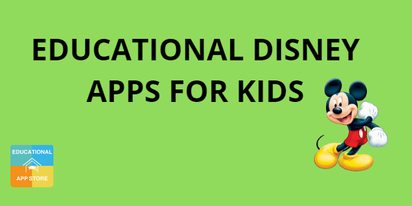 5 Educational Disney Apps for Kids
