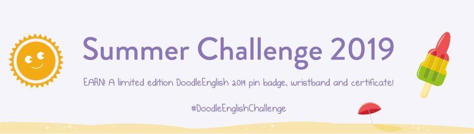 DoodleEnglish Summer Challenge