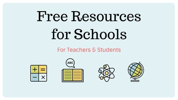 Free Resources for Schools