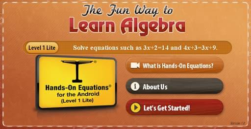 Fun Way to Learn Algebra