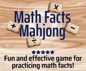 Math Facts Mahjong