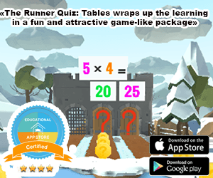 Runner Quiz Tables