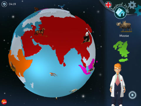 DimDon World Map App - 3