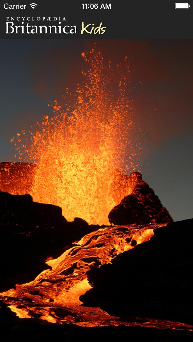 Britannica Kids: Volcanoes-1