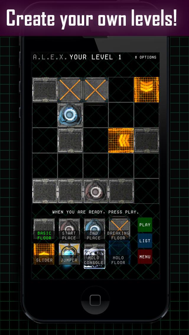 A.L.E.X. App - 3
