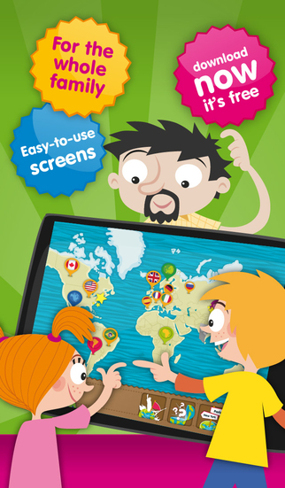 Planet Geo - educational games to learn geography for kids & teenagers-5
