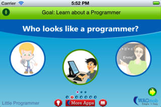 Programming For Kids by WAGmob App - 1