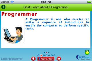 Programming For Kids by WAGmob App - 2