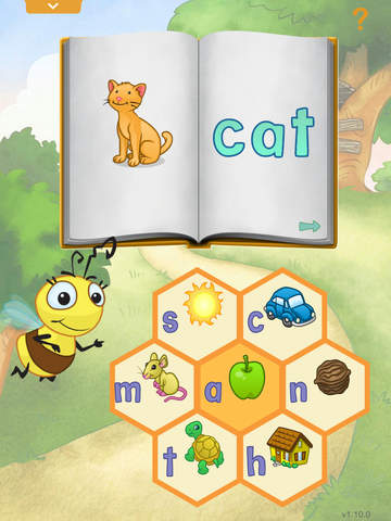 Reader Bee and the Story Tree App - 2