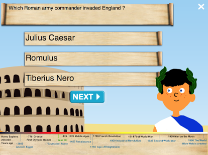 History Quiz for Kids App - 19