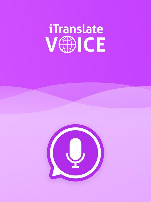 iTranslate Voice - translator & dictionary