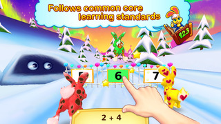 Wonder Bunny Math Race: 1st Grade Kids Advanced Learning App for Numbers, Addition and Subtraction-2
