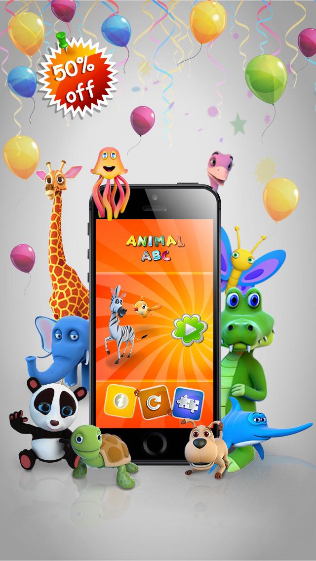 Animal ABC 3D App - 1
