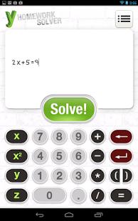 yHomework - Math Solver App - 1