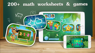Cool math games for kids & toddlers: tracing numbers, addition, subtraction, free worksheets for preschool & kindergarten-1