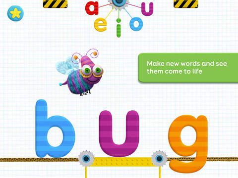 Tiggly Tales: Word Building & Storytelling Kids Game App - 2