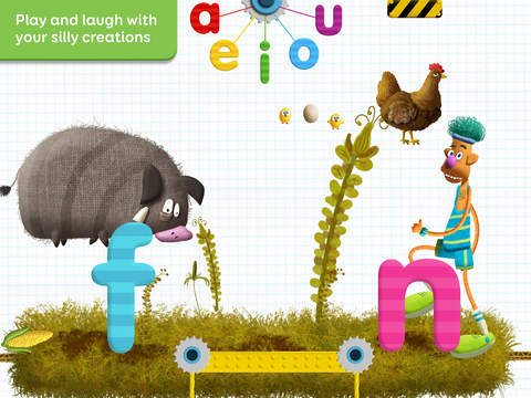 Tiggly Tales: Word Building & Storytelling Kids Game App - 3