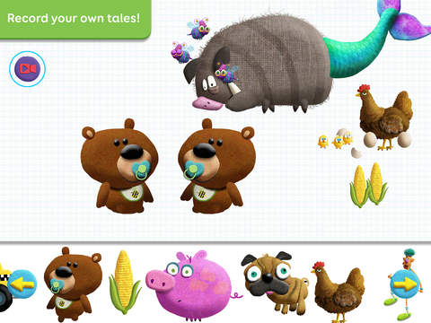 Tiggly Tales: Word Building & Storytelling Kids Game App - 5