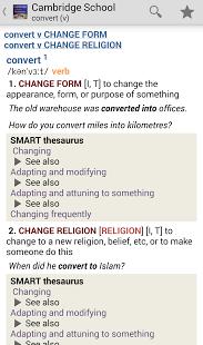 Cambridge School Dictionary TR-3