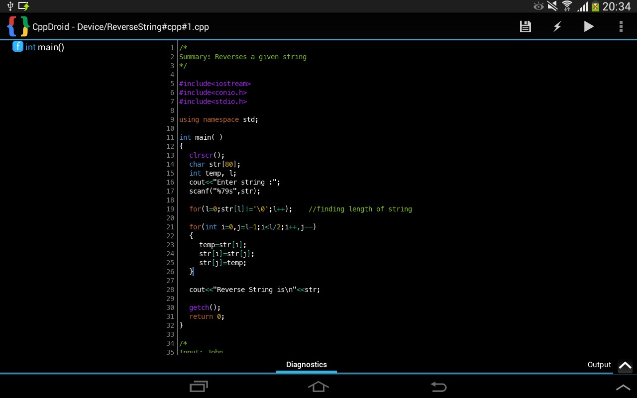 Cppdroid C C Ide Review Educational App Store