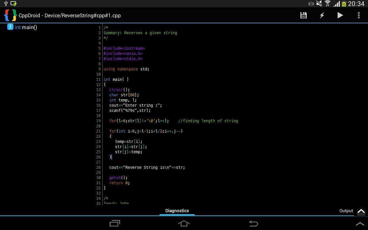 CppDroid - C/C++ IDE-1