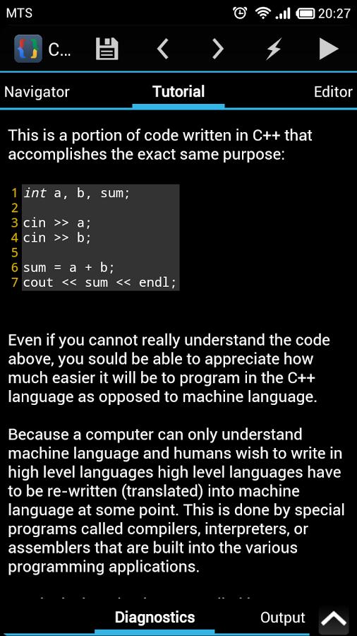 CppDroid - C/C++ IDE App - 4