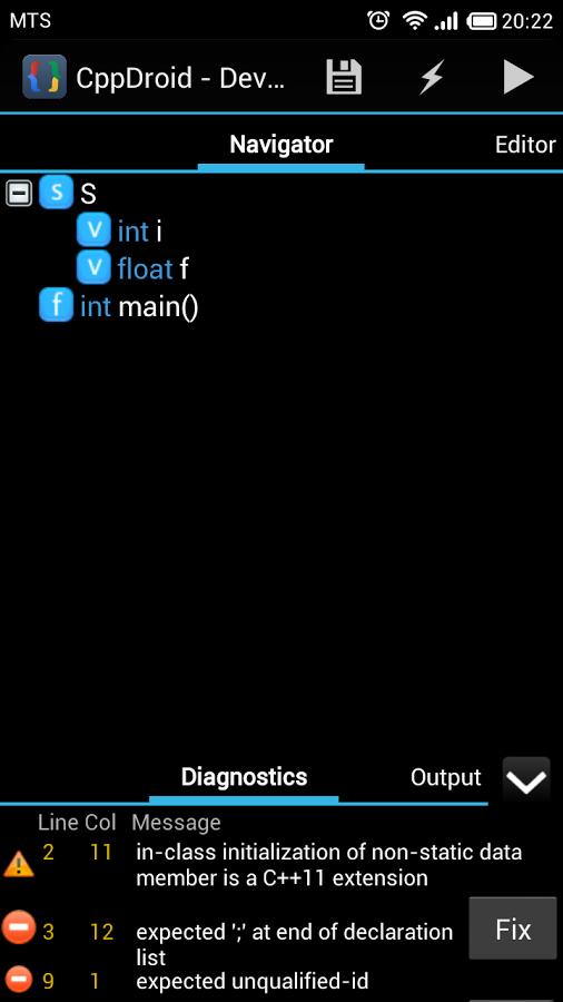 CppDroid - C/C++ IDE App - 9