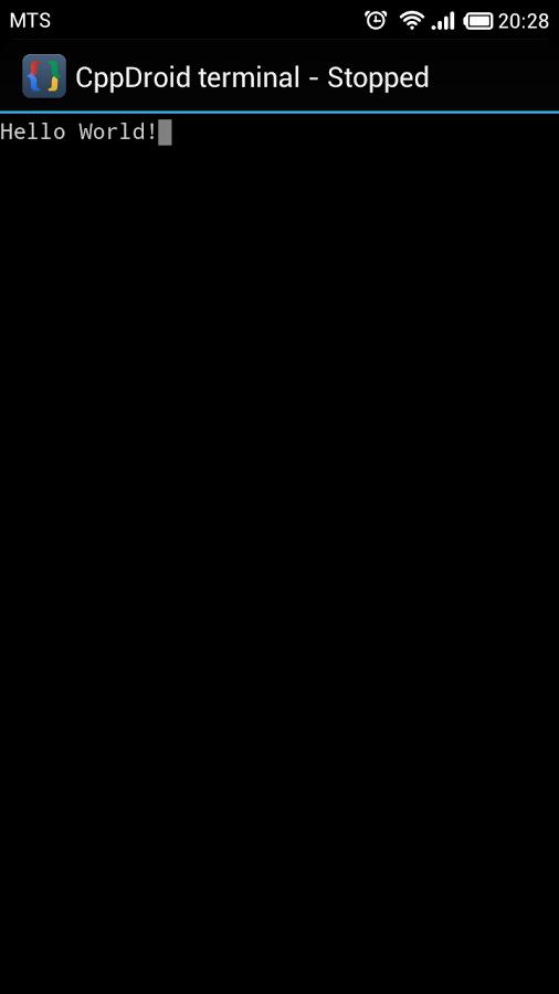 CppDroid - C/C++ IDE-10