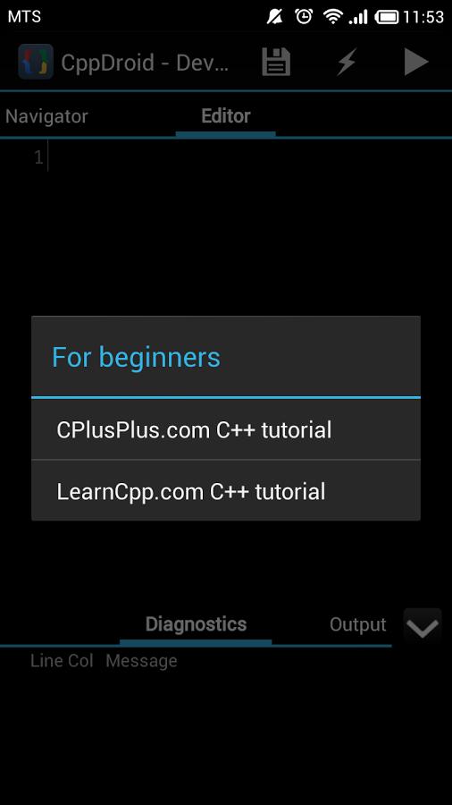 CppDroid - C/C++ IDE App - 12