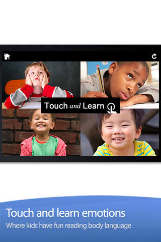 Touch and Learn - Emotions App - 1