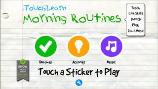 iTouchiLearn Life Skills: Morning Routines for Preschool Kids Free-1