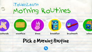 iTouchiLearn Life Skills: Morning Routines for Preschool Kids Free-3