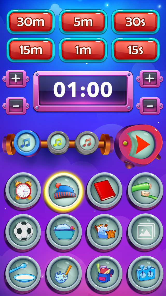 Timer for kids - visual task countdown for preschool children, family & friends - help in chore daily activities & morning routines!-3