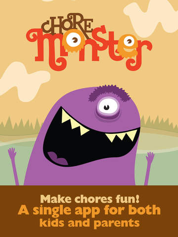 ChoreMonster: make chores fun for kids!-1