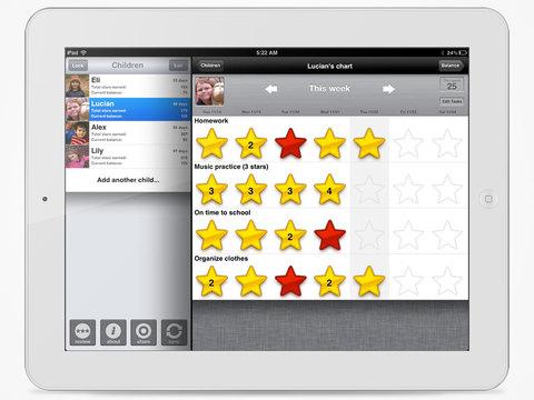 iRewardChart - Reward Tracker Behavior Chore chart for Parents-1