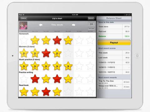 iRewardChart - Reward Tracker Behavior Chore chart for Parents App - 3