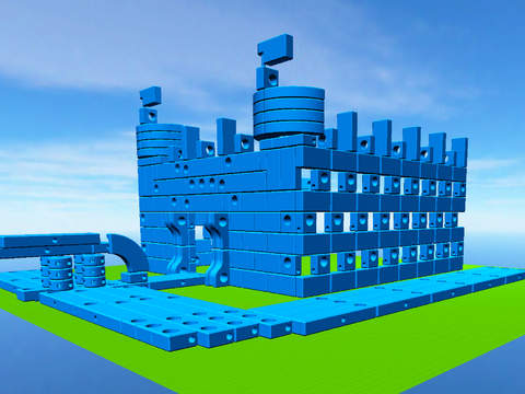 Imagination Playground 3D Builder App - 1