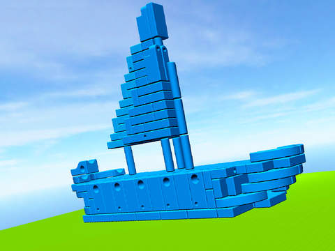 Imagination Playground 3D Builder App - 3