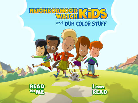 Duh Color Stuff - A Book for Kids. Read, Play and Learn!-1