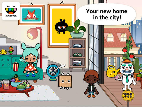 Toca Life: City App - 1