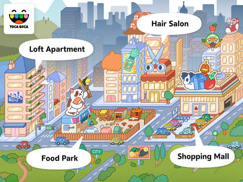 Toca Life: City App - 5