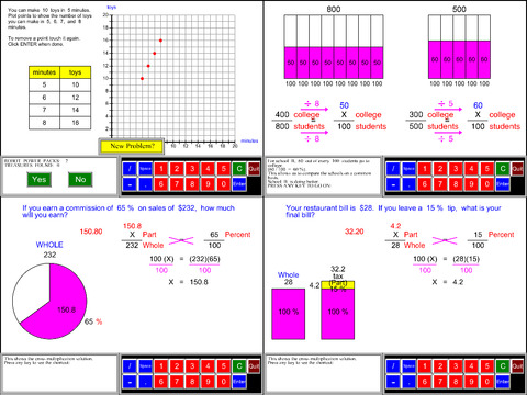 6th Grade Math Common Core App - 2